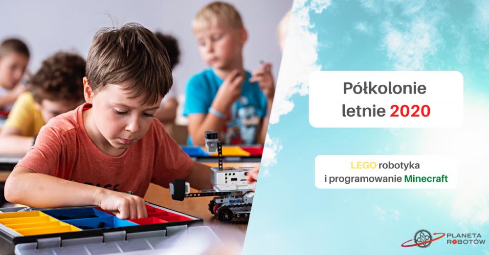 Półkolonie letnie - Planeta Robotów w Poznaniu